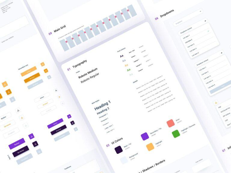 Flexibility and customization of a dashboard
