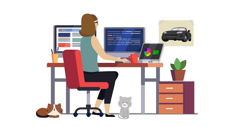 Working with Web Designer. Mockup Design