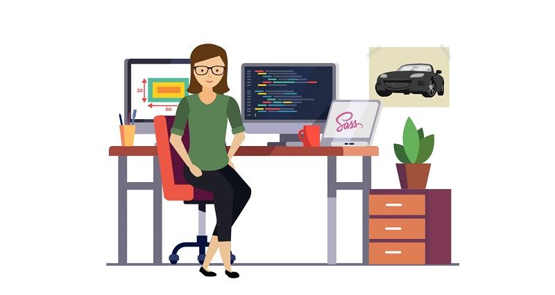 Working with Web Designer. Development phase
