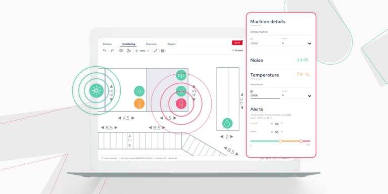 Real-time data in diagrams