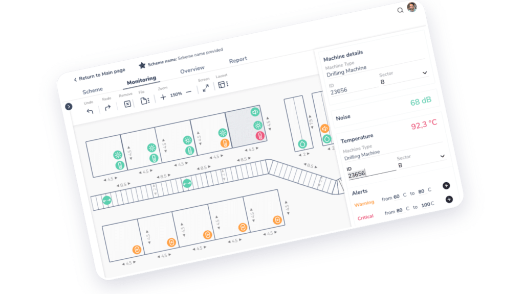 Manufacturing process management system for smart factories and assembly setup